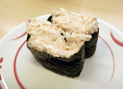 定番の際モン「カニ風サラダ」