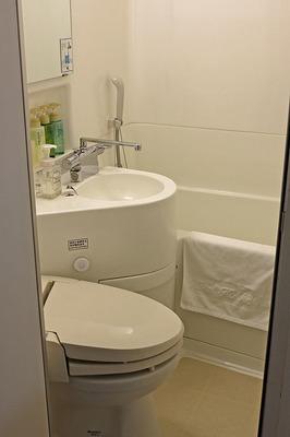 ホテル法華クラブ熊本の浴室