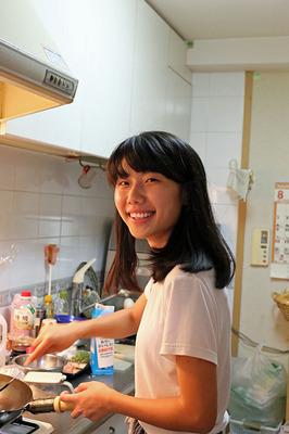 料理中のXiao