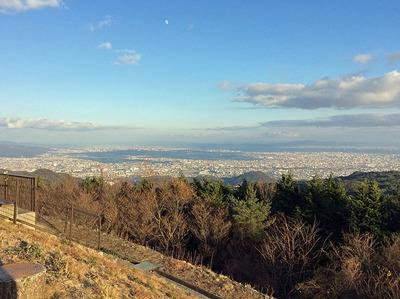 芦有道路からの景色