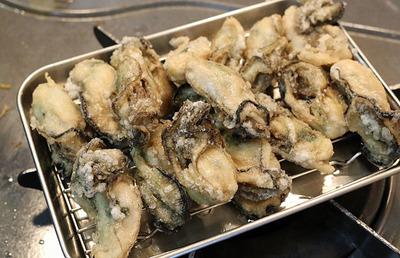 ためしてガッテン流「牡蛎の唐揚げ」