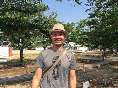 台湾からの客人Yao Hsien Huang