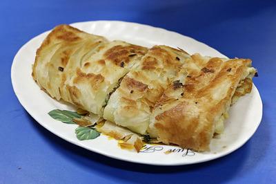 「喜多士早餐店」の蛋餅(ダンピン・egg cake)