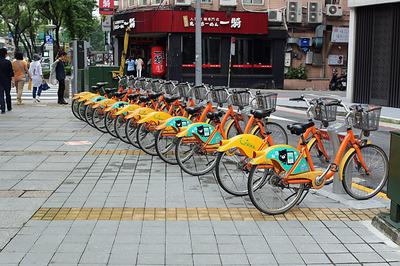 台北で大人気なレンタサイクル「YouBike(ユーバイク)」