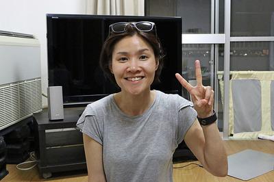 韓国からお客さん「Penny Lee(李美廷・イミジョン)」