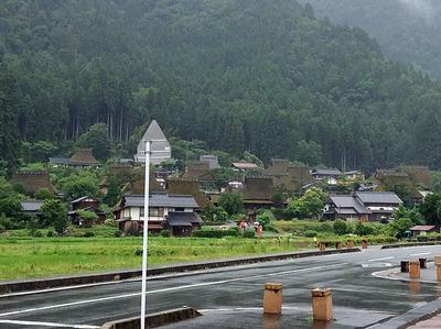 茅葺きの里美山へドライブ