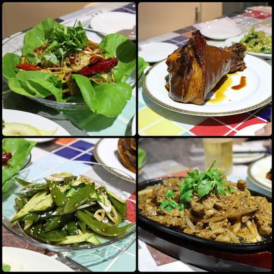 下寺町(松屋町筋)の「龍麺房」のコース料理