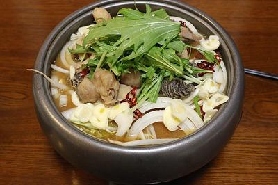 前日に食べた「モツ鍋(ホルモン鍋)味噌味」