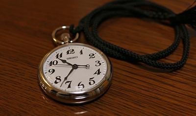 懐中時計に再デビュー
