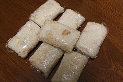 竹の子の煮物を作って、それで「たけのこご飯」