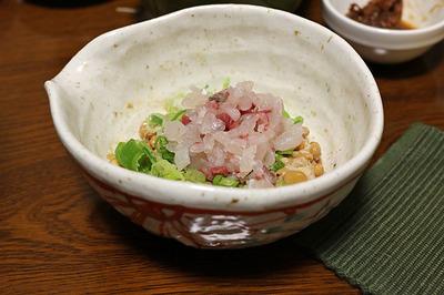 シマアジ納豆