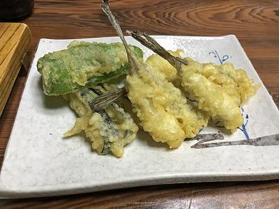 メゴチの天ぷら