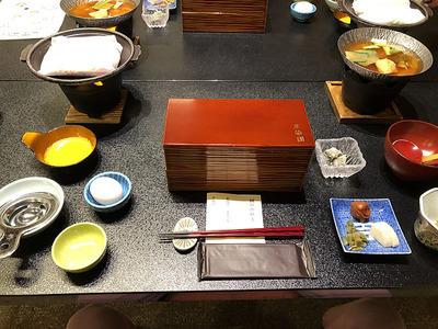 富山県砺波市の宿「三楽園」の朝ごはん