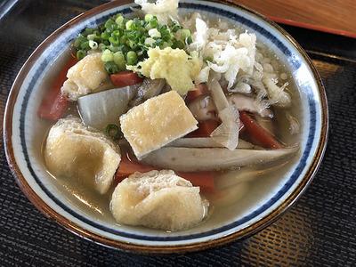 上野製麺所のしっぽくうどん半玉