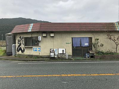 奈良県桜井市のうどん屋「ぶれーど・う」の店構え