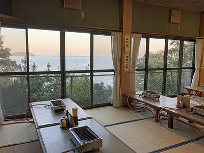 食堂からの景色