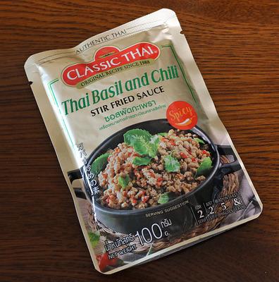 Classic Thai 「Thai Basil and Chili Stir Fry Sauce」ガパオ炒めの素