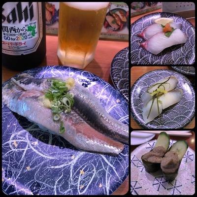 回り寿司で食べたモノ