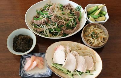 ラム肉の切り落としで炒め物