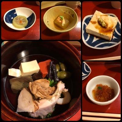 神戸元町の「佳景」のお料理 前半