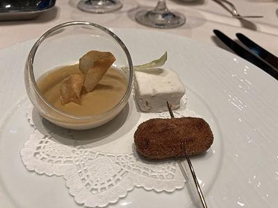 里芋3種の前菜