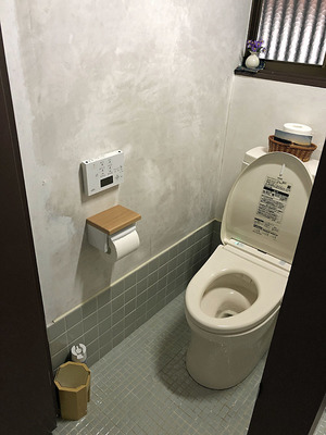 トイレはちゃんとウォシュレット