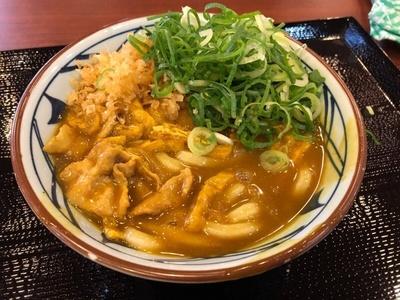 久しぶりに食べてみた丸亀製麺の「カレーうどん」