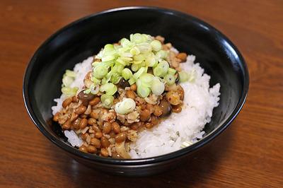 予想以上に美味かった「麻婆納豆丼」