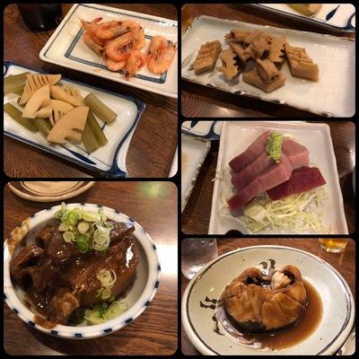 大須の「末廣屋」で食べた料理