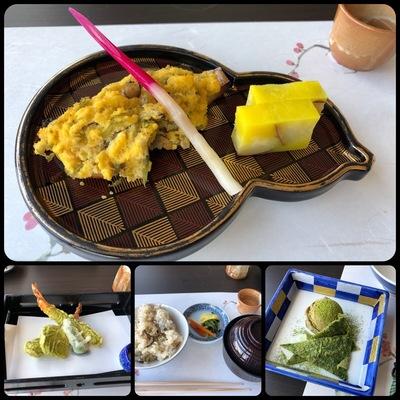 KKRホテル大阪の「八尾若ごぼう会席」