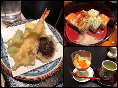 シェラトン都ホテル大阪の和食屋「うえまち」でランチ
