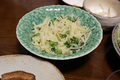 ジャガイモのシャキシャキ冷菜