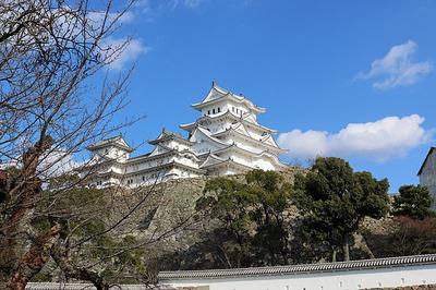めっちゃええ天気やった「姫路城」